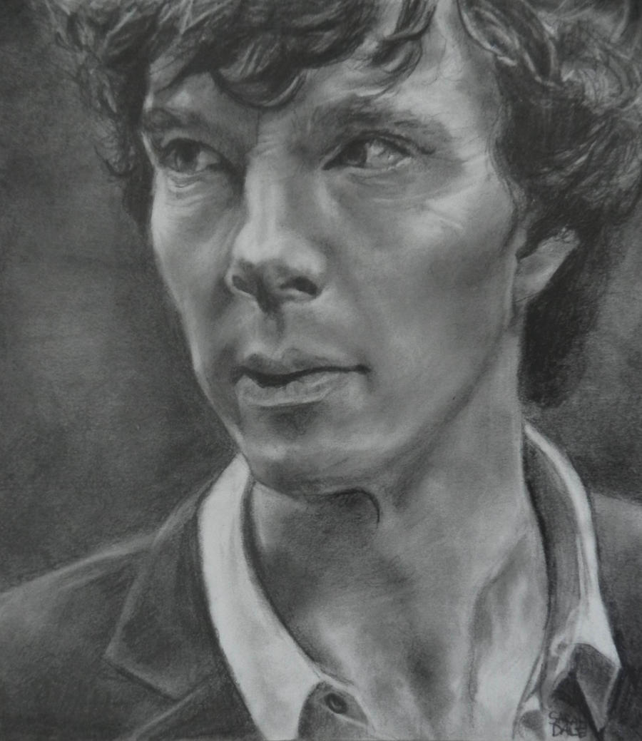 Sherlock Holmes BBC (Benedict Cumberbatch) by Turquoise-Tangerine