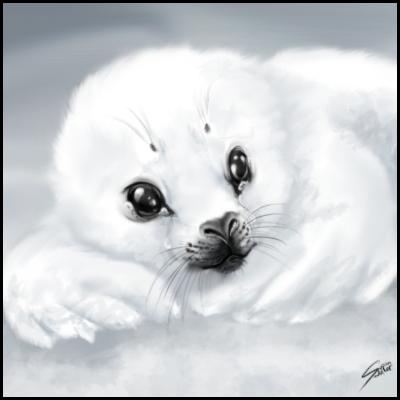 Frozen Tears by ClemiKinkajou