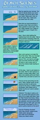 Beach Scenes: Sand, Waves and Seafoam!