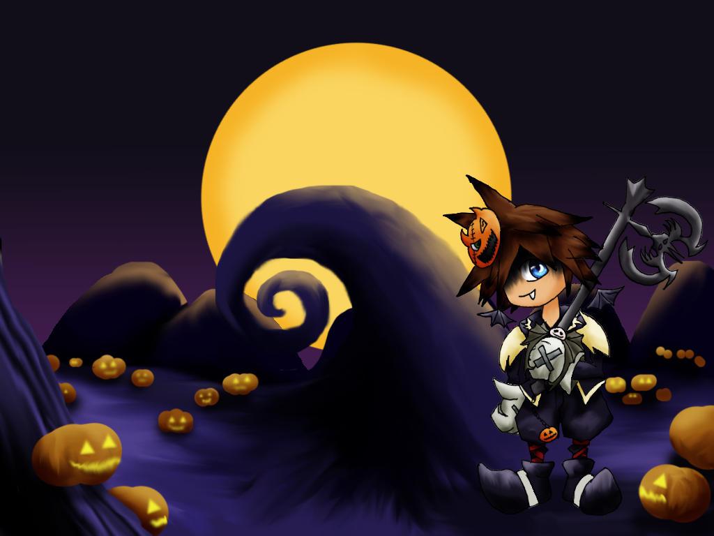 Chibi Sora - Halloween Town by ClemiKinkajou on DeviantArt