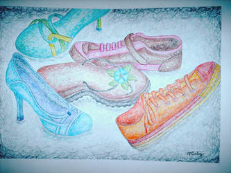 Swirrly Shoes by keetychick
