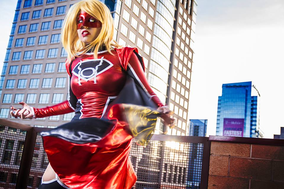 Red Lantern Supergirl I HATE EVERYTHING By Khainsaw