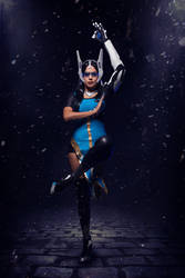 Overwatch Symmetra Cosplay : Light is the Way by Khainsaw