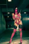 Mortal Kombat 9 Mileena Cosplay !