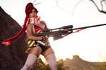 Yoko Littner Cosplay : GUNS AND GIRLS