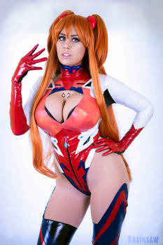 Flare Asuka Langley from Evangelion Cosplay