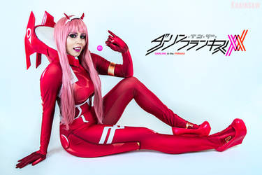 Darling in the Franxx Cosplay : ZeroTwo 02 by Khainsaw