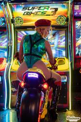 Arcade Cammy White Cosplay!