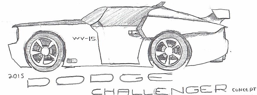 2015 dodge challenger by pixel