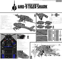 AHU-9 Tiger Shark by Pixel-pencil