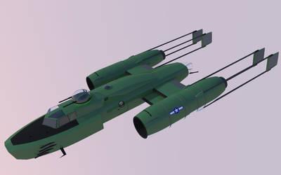 1945 Rebel Y-Wing by Pixel-pencil