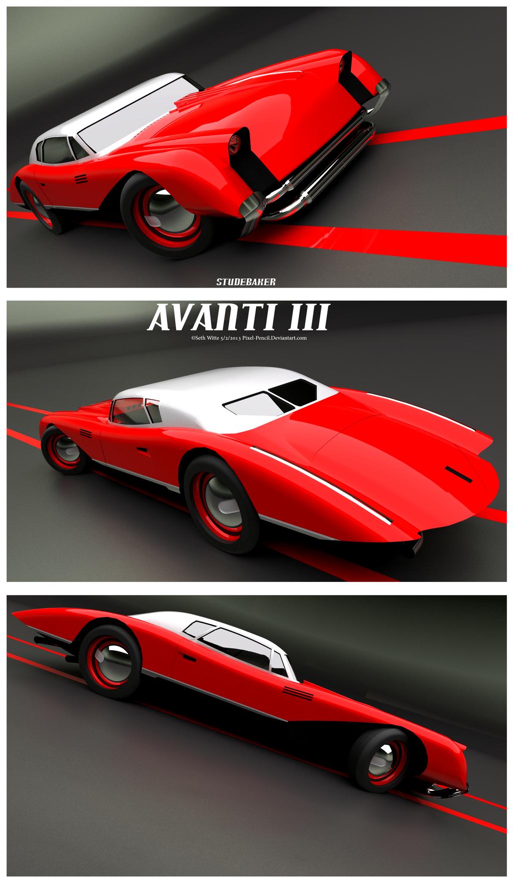 Studebaker Avanti III by Pixel-pencil
