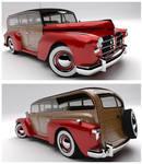 Madison Motors 300 Woody Wagon