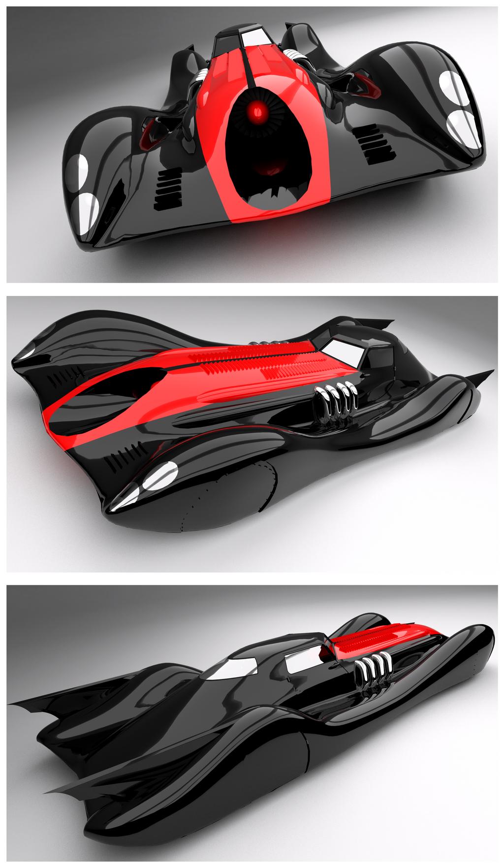 Batmobile Revamp by Pixel-pencil