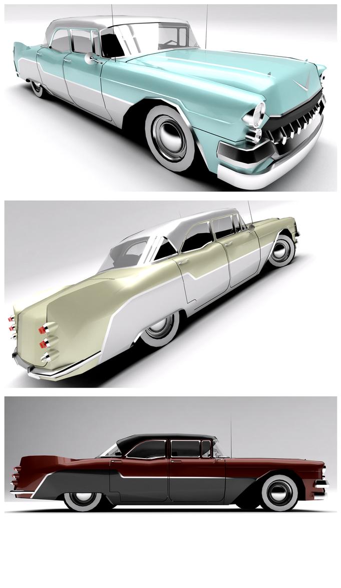 1956 Cadillac/Brougthome- Vilcea Sedan by Pixel-pencil