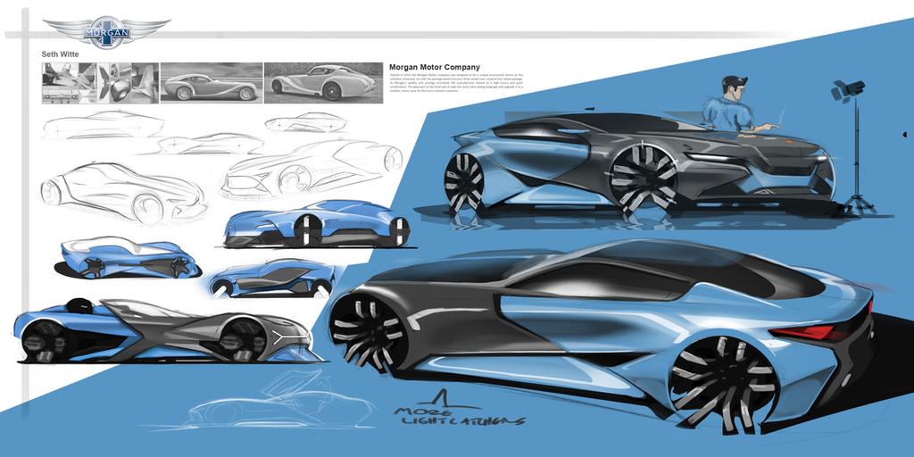 Morgan GT Concept by Pixel-pencil