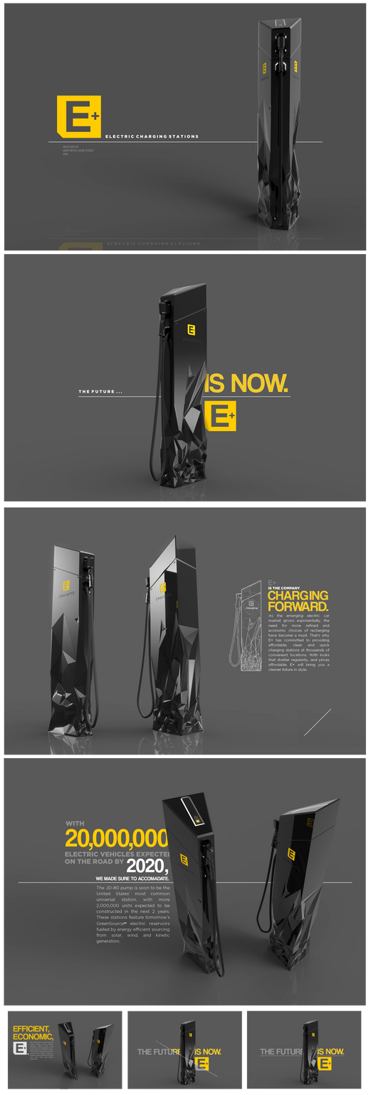 E+ Recharging Stations by Pixel-pencil