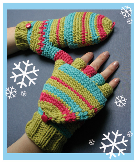 GLOVE CROCHET PATTERN - Easy Crochet Patterns