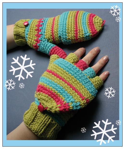 Crochet Pattern Gloves : Crochet Gloves by ItziBitziTinka on DeviantArt