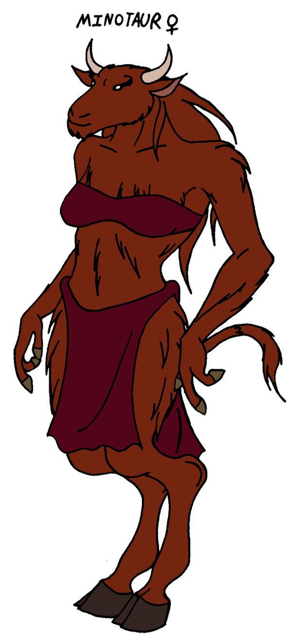 Female minotaur smut pic