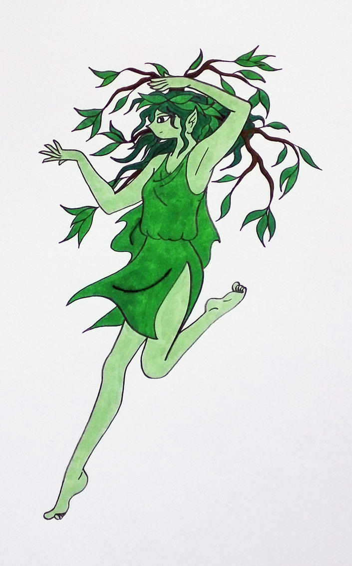 Dancing Dryad/Wood Nymph by Jakegothicsnake