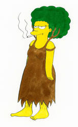 Patty Bouvier as a Dryad