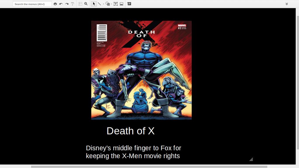 Death of X Demotivational Poster by ElementalSunburst