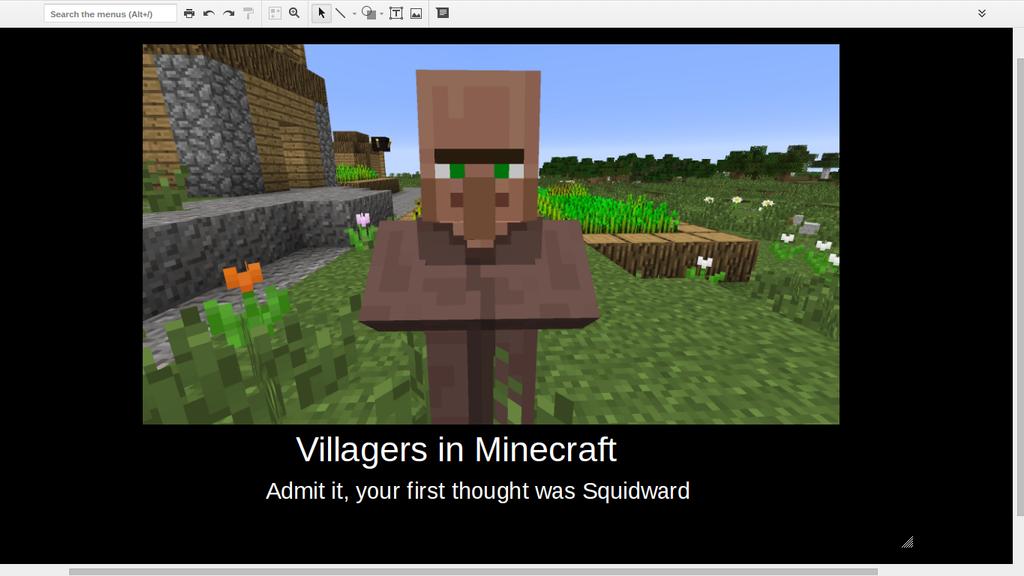 Minecraft Villagers Demotivational Poster by ElementalSunburst