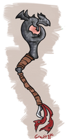 ADOPTED Dragon Forged Staff