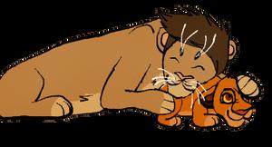COMM Simba Snuggles