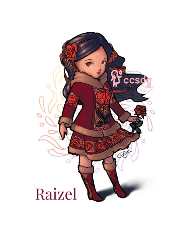 ADOPTED Raizel by Twitterlu