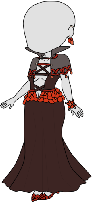 ADOPTED Vampire Formal Outfit by Twitterlu