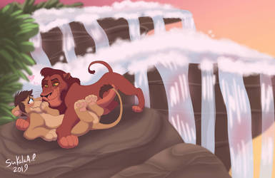 YCH A Waterfall All Our Own by Twitterlu