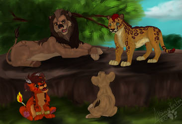 YCH Group of Cool Cats by Twitterlu