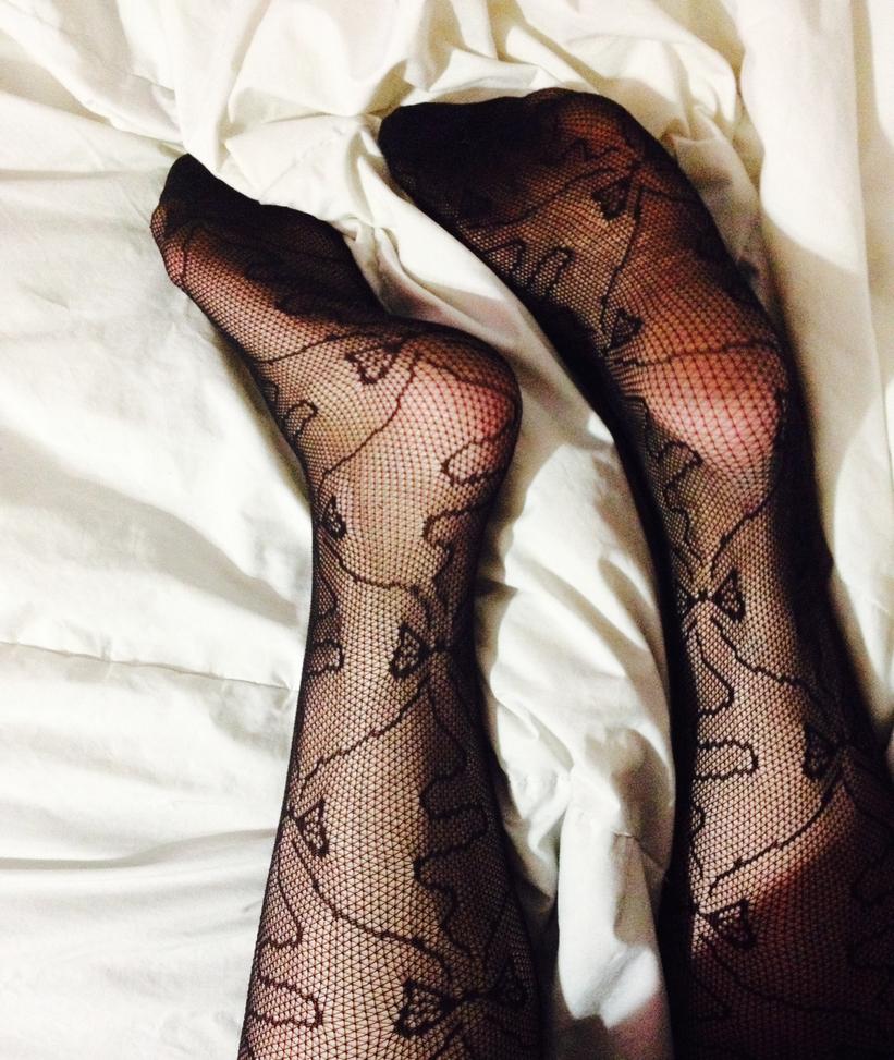 Little Bow Stockings by LittlePlumBlossom