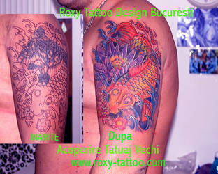 Acoperire Tattoo by Salonroxytattoo