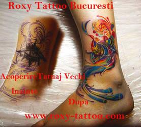 Acoperire Tatuaj Vechi by Salonroxytattoo