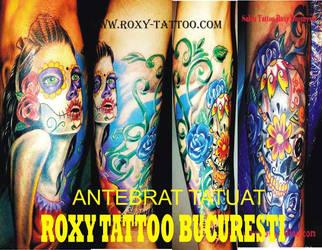 Antebrat Tatuaj Roxy by Salonroxytattoo
