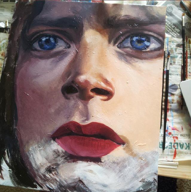 Frodo WIP5 by Casimira