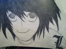 Lawliet Ryuzaki by PleaseDontEatMeh