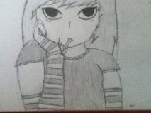 anime Smoker girl o3O by PleaseDontEatMeh