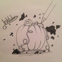 A little inktober thing by 4EverBecause