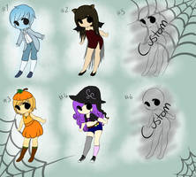 Halloween Adopts- (Open 3/6) by 4EverBecause
