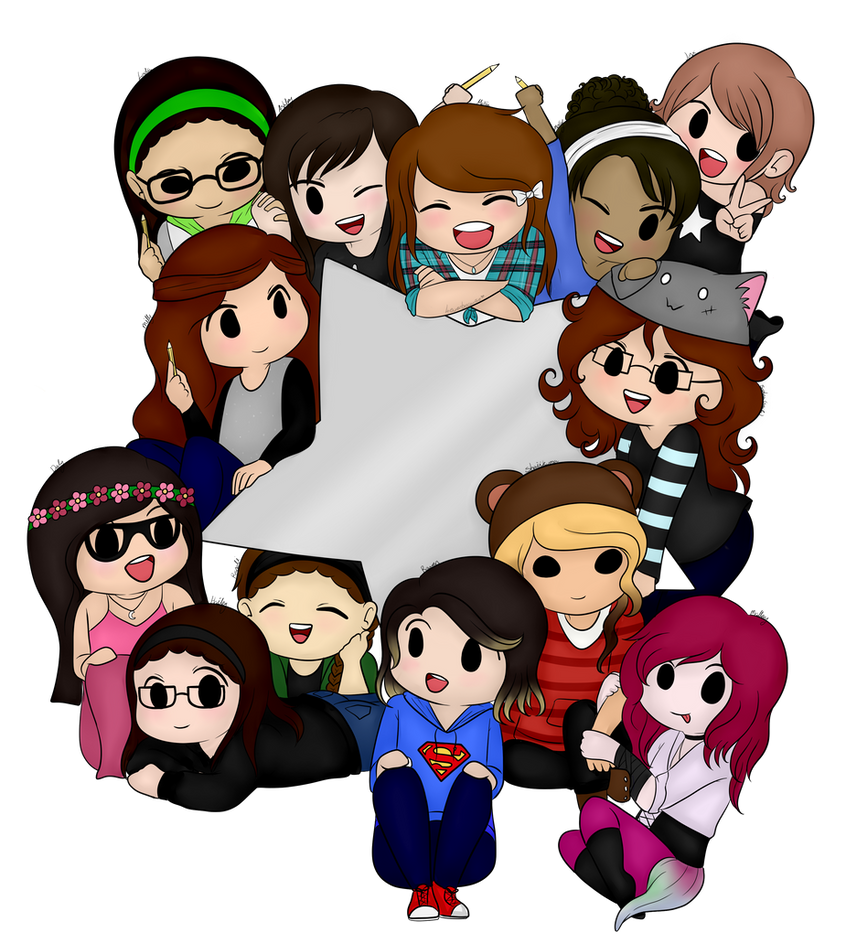 All My Angels! by 4EverBecause