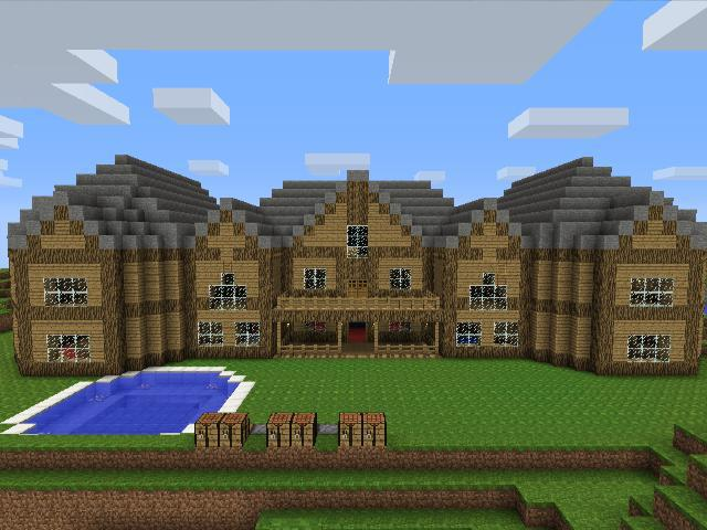 My minecraft houses by tigxz389 on deviantart for Minecraft big modern house tour