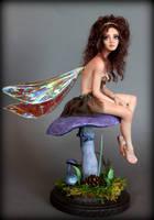 Mushroom Fairy by moonglue