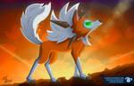 Pokemon Sun And Moon ~ Lycanroc Dusk Form