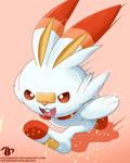 Scorbunny ~ Pokemon Sword and Pokemon Shield