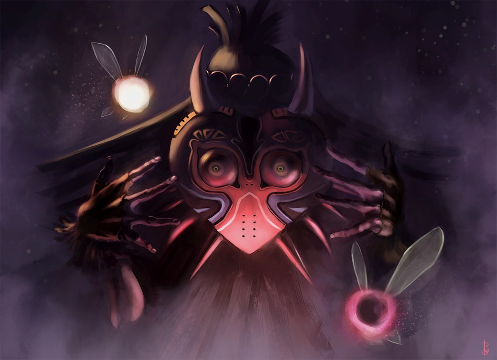 Skull Kid Wallpaper: Skull Kid By Phospheneart On DeviantArt