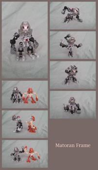 Lego MOCs: Matoran Frame